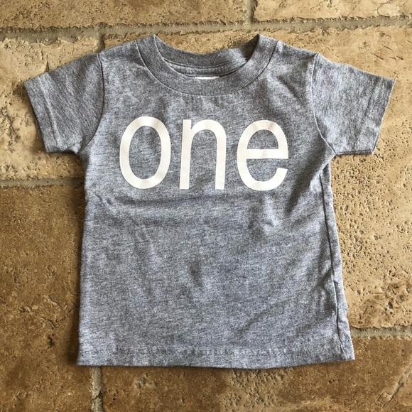 Custom First Birthday Shirt